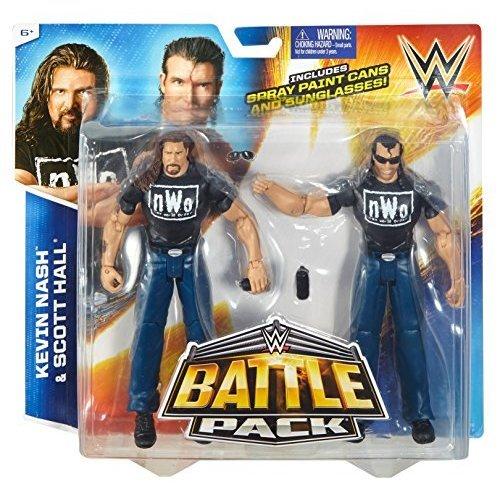 WWE nWo Outsiders Battle Pack - Kevin Nash & Scott Hall Figures