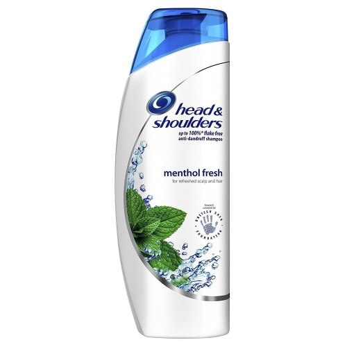 Head & Shoulders Anti-Dandruff Shampoo Menthol Fresh Hydrates Softens Hair 500ml