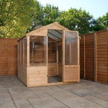 6x6 Budget Greenhouse