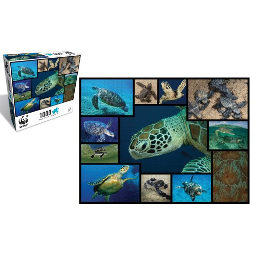 Turtles 1000 Piece Puzzle - WWF