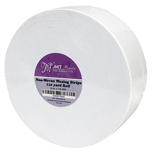 JMT Beauty Nonwoven Waxing Strips Roll, 3in X 110 yds