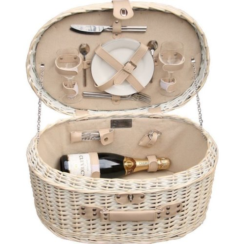 Provence Oval Fitted  Picnic Basket