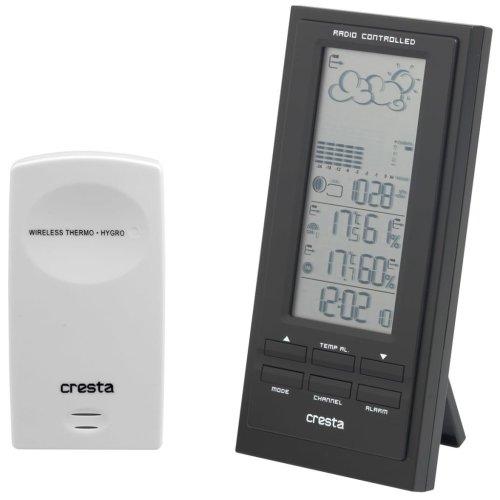 Cresta Weather Station BAR500 Black 70217.01