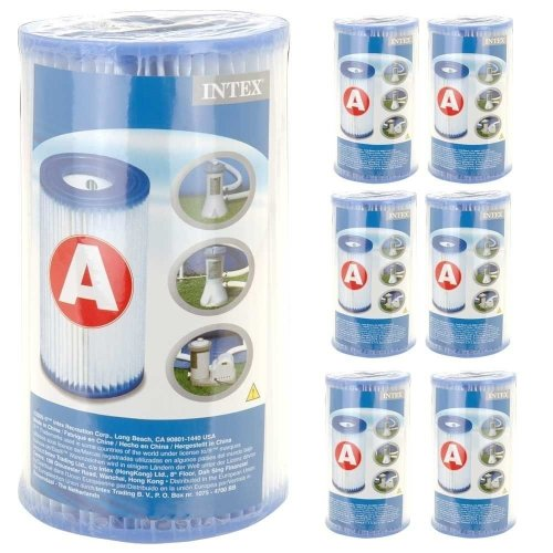 Intex 6 Filter Cartridges - Type A