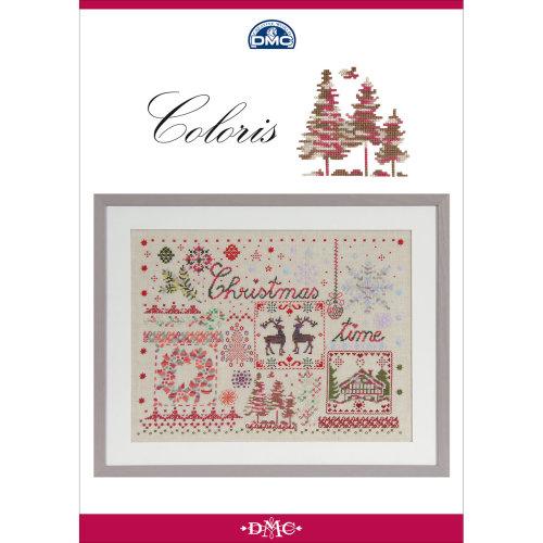 DMC Books-Coloris Christmas Pattern Book