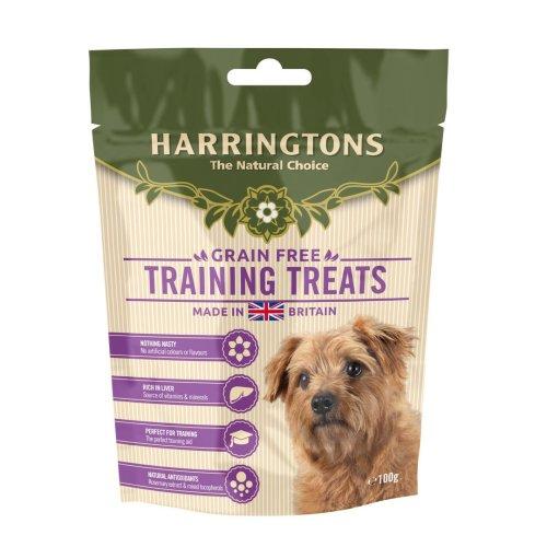 Harringtons Grain Free Training Treats 100g (Pack of 9)