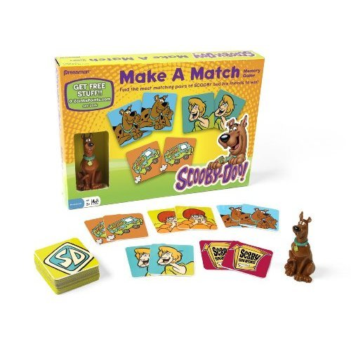 Scooby-Doo Make a Match Game