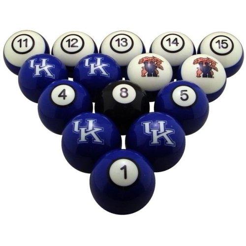 Wave7 UKYBBS100N University Of Kentucky Billiard Numbered Ball Set