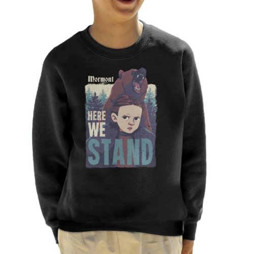 Lyanna Mormont Here We Stand Game Of Thrones Kid's Sweatshirt