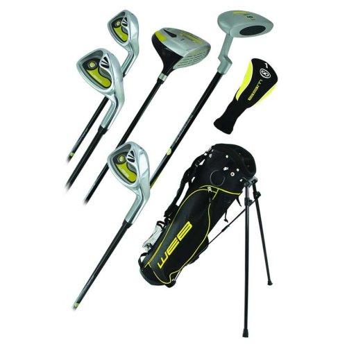 Go Junior High Quality Childrens 7 Piece Golf Starter Kids Package Set Age 4-5