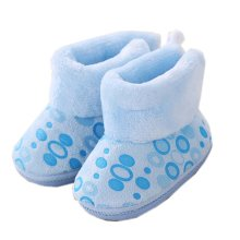 Soft Warm Unisex Baby Booties Newborn Shoes Infant Walking Shoes Great Gift for Baby, K
