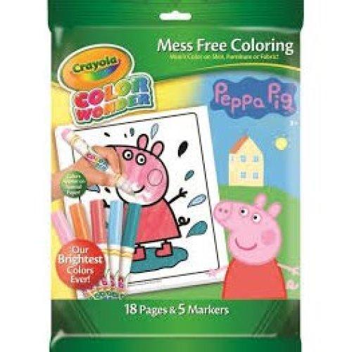 Crayola Peppa Pig Colour Wonder Set
