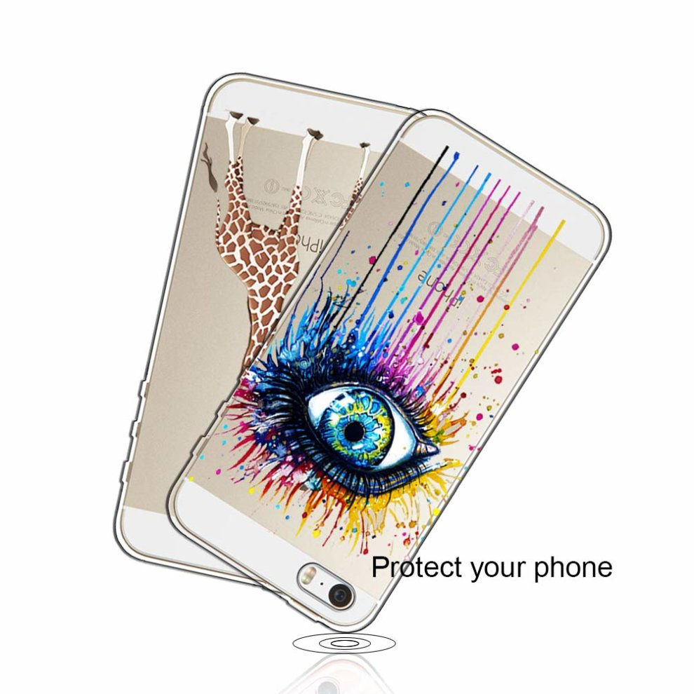 98e10684a2d54e 3 Pack] iPhone 5 Case, iPhone 5S Case, iPhone SE Case, Shumeifang ...