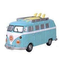 Children Piggy Bank Creative Money Cans Or Gift Ornaments, Blue Medium Bus
