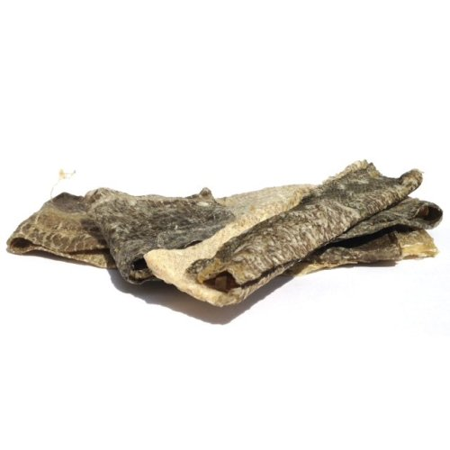 Skipper's Pet Products Fish Skin Flatties