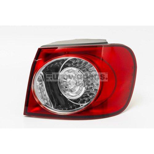 /White-Red Valeo 44430/Right Hand Rear Light/