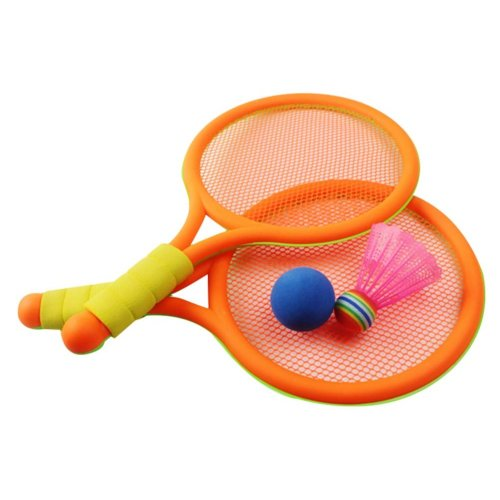 Cute Racket Tennis Racket Badminton Racket Children Toys Badminton Set
