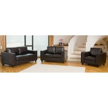 Frieda Leather 3 Seater Sofa in Choice of Colours
