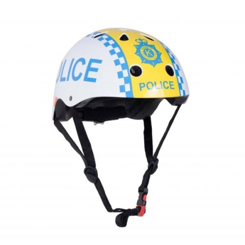Kiddimoto Children's Bike / Scooter / Skateboarding Helmet - Police Design