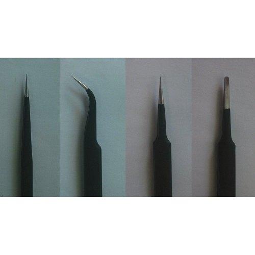 Tru09957 - Trumpeter Tools - Tweezer Set (4 Tweezers)