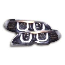 Daylight Headlight  BMW serie 3 E46 saloon/Touring Year 02-05 black RHD