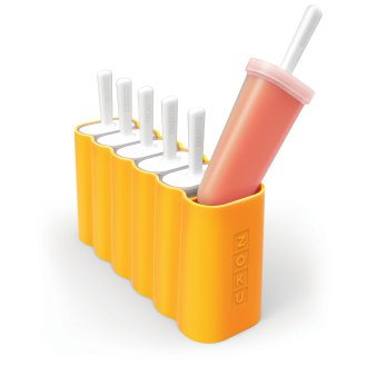 Zoku   Kids' Outdoor Ice Lolly Pop Mould available in Orange -