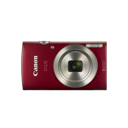 Canon Digital IXUS 185 Compact camera 20MP 1/2.3  CCD 5152 x 3864pixels Red