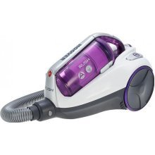 Hoover Rush Bag Less Cylinder Vacuum Cleaner 700W Burgundy/Silver (RU70RU12001)