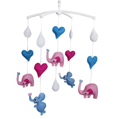 Elephant Mobile For Crib Lovely Toy For Little Babies Crib Decoration