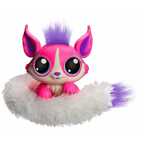 Mattel Lil' GCN61 Gleemerz Aborbrite Interactive Furry Toy with Lights Sounds