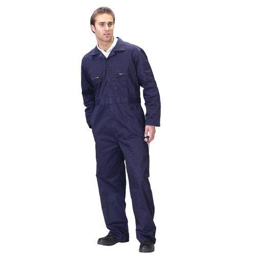 """Click PCBSHWN36 Super Polycotton Boiler Suit Navy Blue 36"""""""