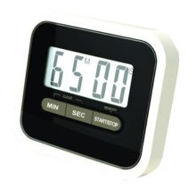 Utility Mini Electronic Digital Timer Kitchen Timer, Black