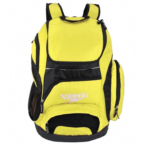 Speedo Unisex Adult Teamster Backpack, Yellow, 35 L