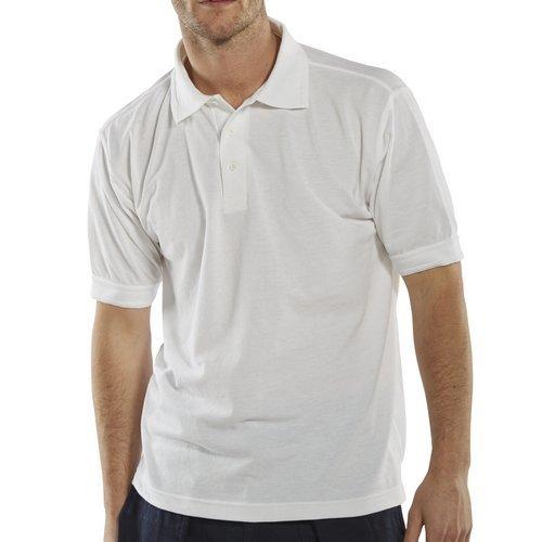 Click CLPKSWL Polo Shirt White Large