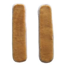 [Yellow] Plush Chair Armrest Covers Armrest Pads for Chair