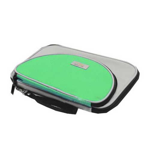 Table Tennis Racket Cover Ping Pong Bat Bag 2-layers Green