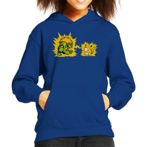 Electric Fight Kid's Hooded Sweatshirt