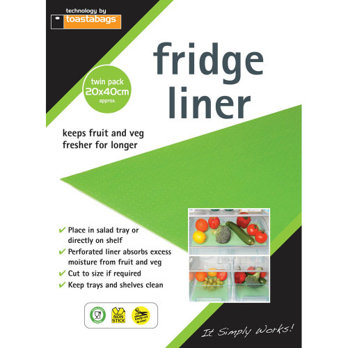 Toastabags Fridge Liner 4 pack
