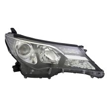 Toyota Rav-4 2013-2016 Black Headlight Headlamp Drivers Side O/s
