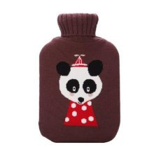 Classic Hot Water Bottle Comfortable Warm Water Bag For Home / Office -A16