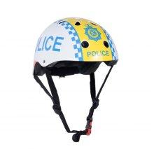 Kiddimoto Children's Bike / Scooter / Skateboarding Helmet - Police Design