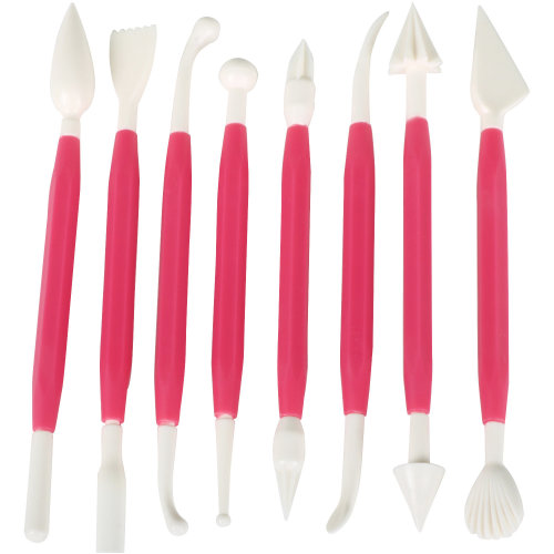 CAKE DECORATING TOOLS RED