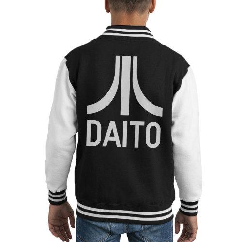 Daito Atari Logo Ready Player One Kid's Varsity Jacket