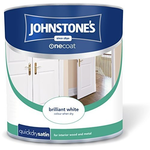 Johnstone's One Coat Quick Dry Satin - Brilliant White