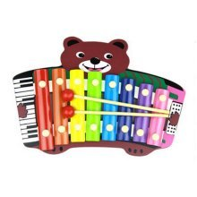 Hammer Percussion Hand Knock Children Music Toy Piano--Little Bear