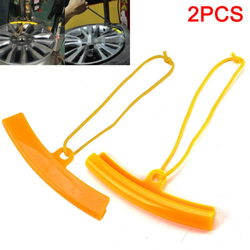 2X Car SUV Motorcycle Alloy Wheel Rim soft Protector Tyre Remove edge Protection
