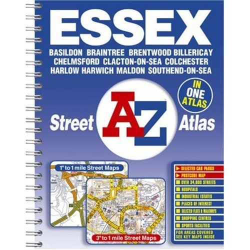 A-Z Essex Street Atlas (Street Maps & Atlases)
