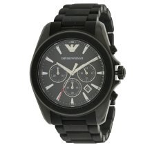 Emporio Armani Sport Rubber Chronograph Mens Watch AR6092