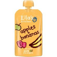 Ellas Kitchen Stage 1 Peaches & Bananas 120g