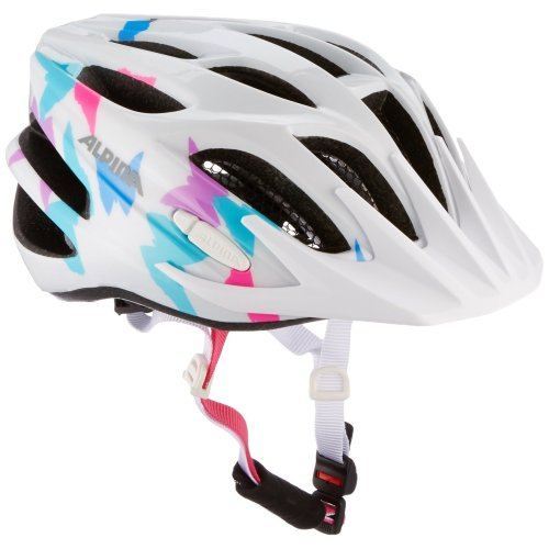 Alpina Unisex Child FB 2.0 Helmet - White Butterfly, Size 51 - 55